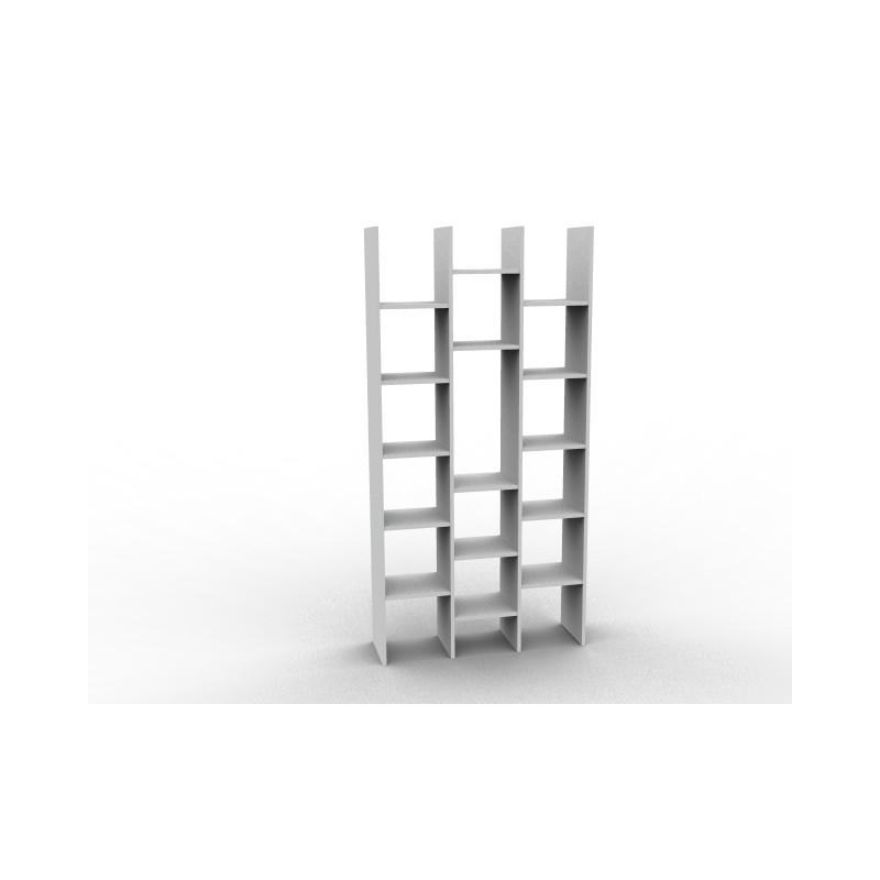 Bibliothèque claustra destructurée