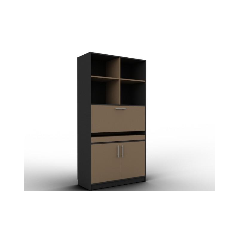 Bureau secrétaire haut en bois