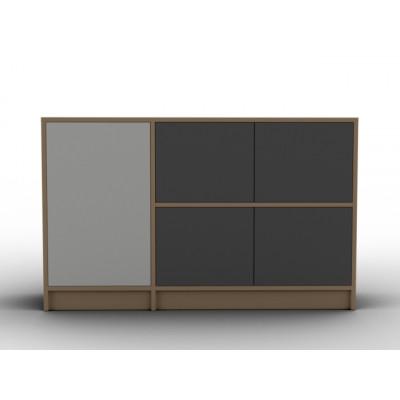 Buffet design modulable avec ouverture push