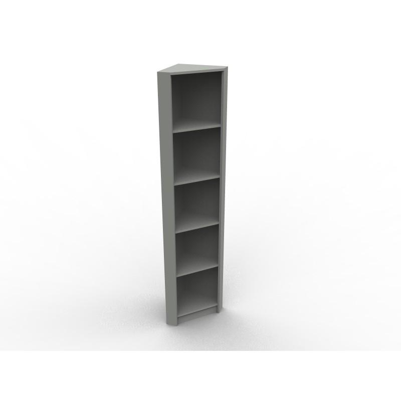 Biblioth que sur mesure en angle mod le virginie - Comment fabriquer un meuble d angle ...