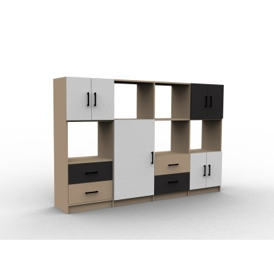 meubles sur mesure en ligne le plus large choix du web dessinetonmeuble. Black Bedroom Furniture Sets. Home Design Ideas