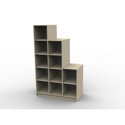 rangement sous escalier sur mesure isabelle sans portes. Black Bedroom Furniture Sets. Home Design Ideas