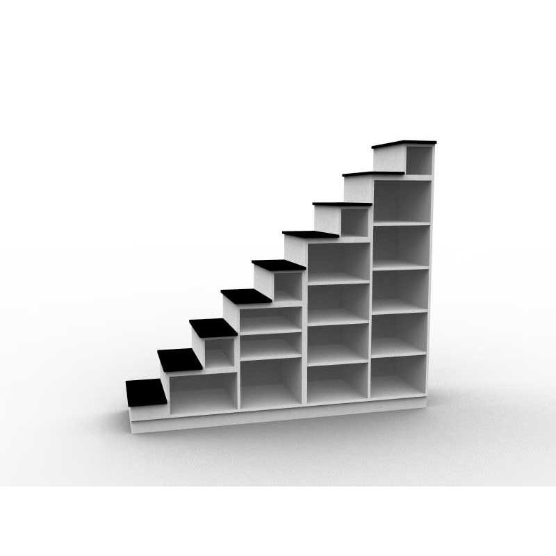 Meuble escalier sens gauche