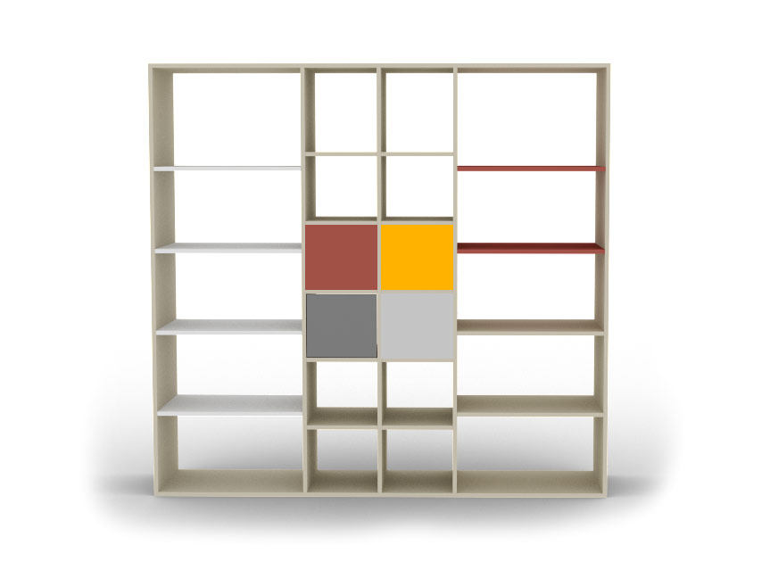 biblioth que sur mesure pour votre salon ou votre s jour. Black Bedroom Furniture Sets. Home Design Ideas